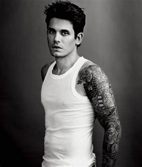 john mayer tattoo sleeve mayer list