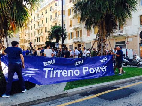 data prossimo consiglio dei ministri tirreno power i sindacati chiedono un incontro urgente
