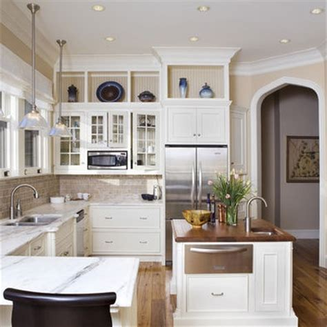 ideas for above kitchen cabinet space