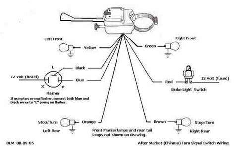 motorcycle led blinker wiring diagram wiring diagram