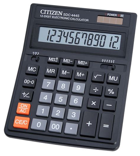 Kalkulator Citizen 12 Digit Calculator Berhitung Citizen Sdc 868l office calculator citizen sdc 444s 12 digit 199x153mm