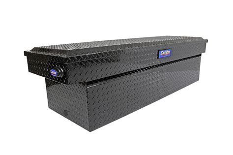 bed rail tool box new dee zee blue label single lid crossover tool box truck