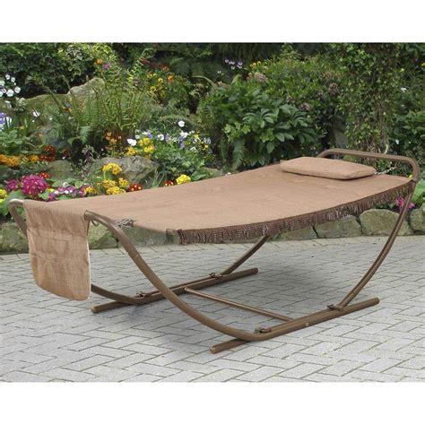 Patio Swing That Folds Courtyard Creations Lorain Padded Folding Hammock