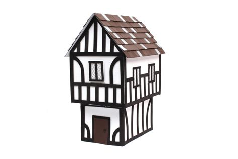 printable tudor house template how to make a tudor house hobbycraft blog