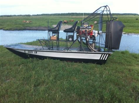 airboat with outboard motor first motor boat 171 all boats
