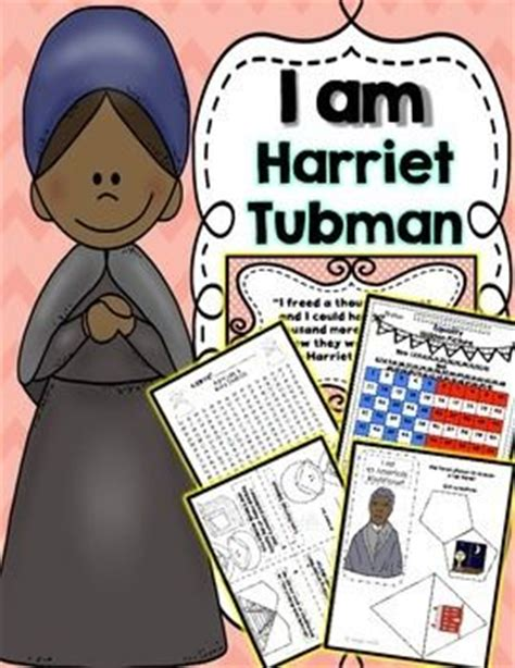 harriet tubman elementary biography harriet tubman black history month and women s history on
