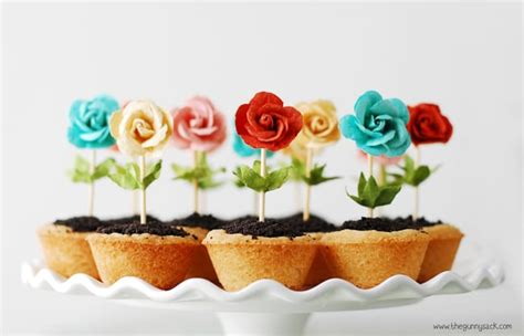 diy flower pot cookies recipe pictures photos and images flower pot cookies