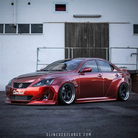 Lexus Is 250 Kit by Lexus Is250 Is350 Widebody Kit By Clinched Flares