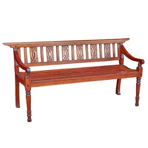 antique teak bench antique thai teak gingerbread garden bench