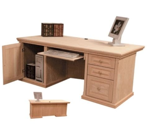 professional office desk in maple desks