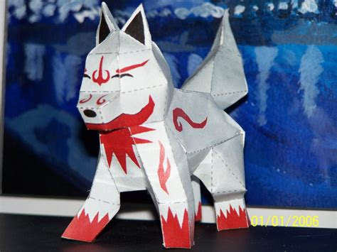 Fox Papercraft - fox wolf papercraft by draco3013 on deviantart