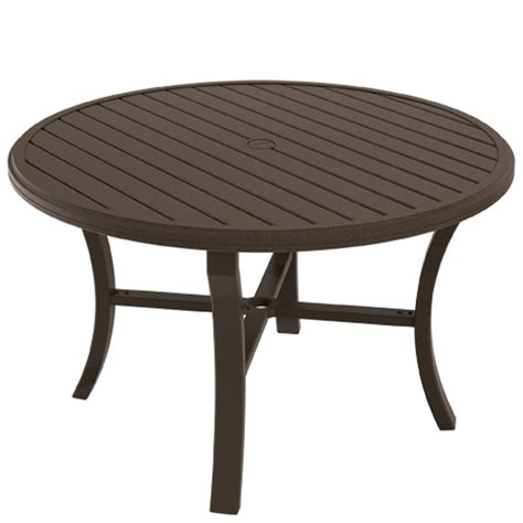 shorea wood outdoor dining table 48 inch all