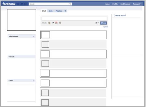 facebook page template http webdesign14 com