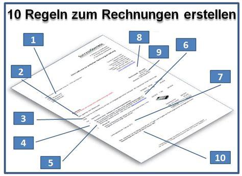 Rechnung Bestandteile Kleinunternehmer 10 Goldene Regeln Zum Erstellen Rechnungen Prof U