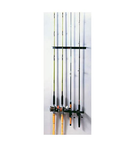 Sports Equipment Rack by Mounted Fishing Rod Rack In Sports Equipment Organizers