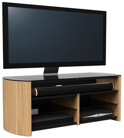 light oak tv cabinet alphason finewood light oak tv cabinet fw1350sb lo