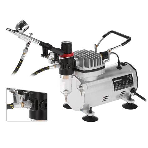 Airbrush Set Alat Air Brush Spray Gun Dual Make Up Brush 3 airbrush kit with air compressor dual hobby spray air brush set nail paint