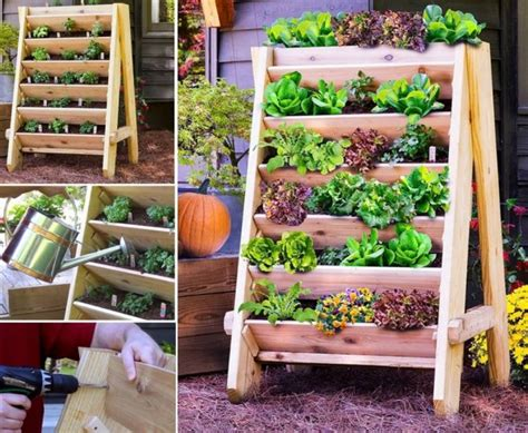 How To Make Vertical Garden Planters Vertical Garden Planters Diy Tag