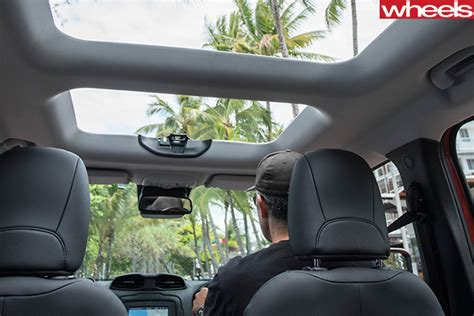 jeep renegade sunroof 2015 jeep renegade review