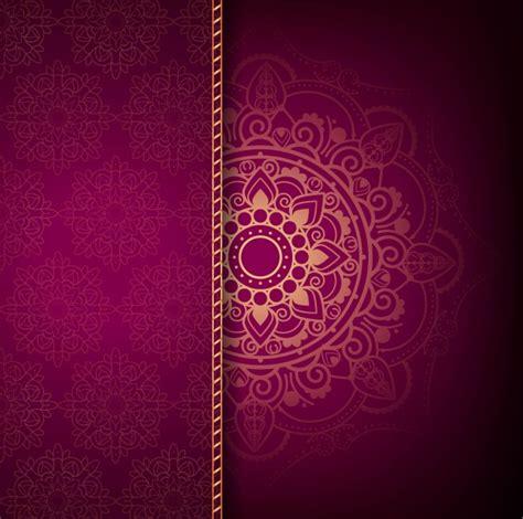 wallpaper pink kosong modern luxury mandala background vector free download