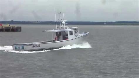 lobster boat builders pei provincial 45 youtube