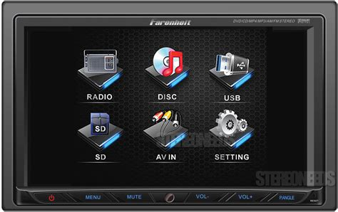 Mp3 Player Mit Touchscreen 762 by Farenheit Ti 762 Car 2 Din 7 Quot Touchscreen Monitor