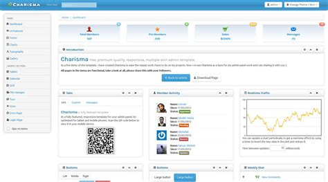 charisma template free bootstrap admin themes and templates to