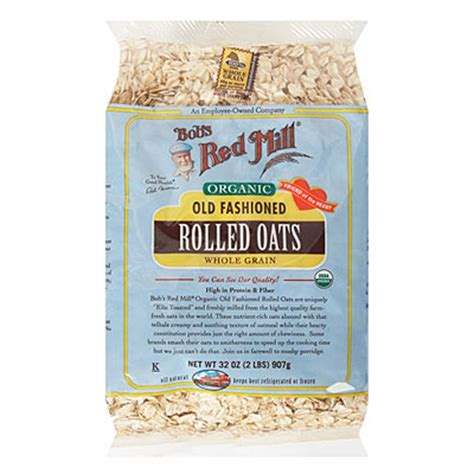 Bob S Mill Organic Cooking Rolled Oat Whole Grain bob s mill 174 organic fashioned whole grain rolled