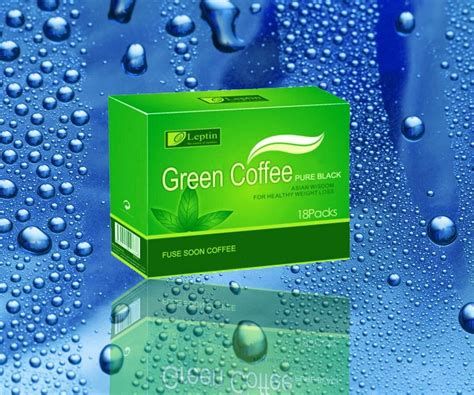 Coffee Green 800 wholesale 18 packs box green coffee 800 leptin products