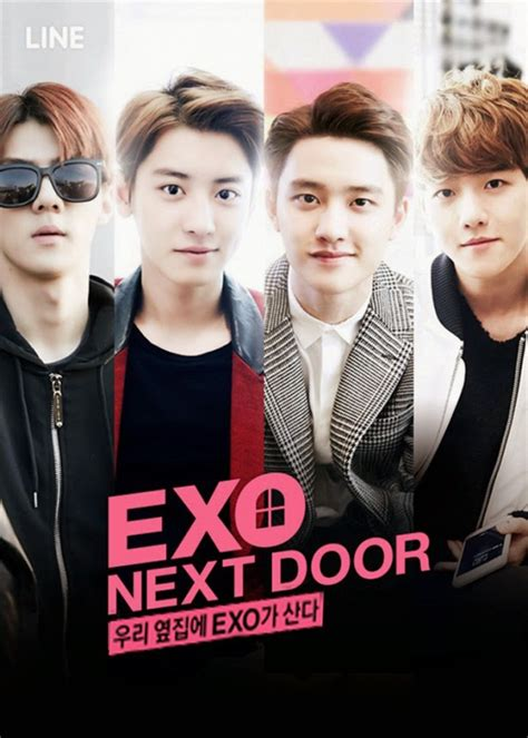 exo next door akan dibuat film exo next door breaks records for web drama views