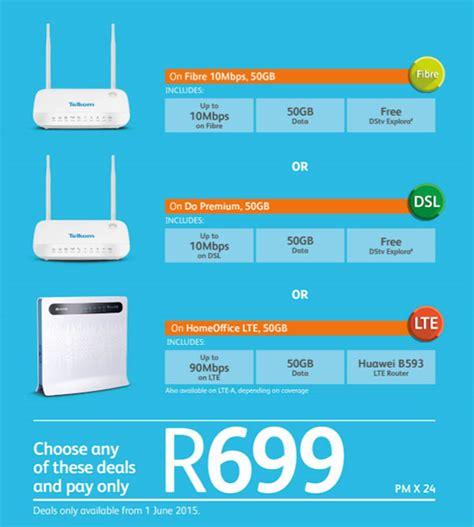 Wifi Portable Telkom telkom s new r699 broadband deal