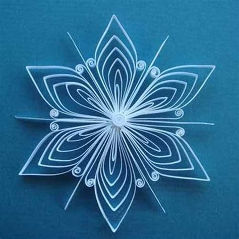 How To Make Construction Paper Snowflakes - quilled paper crafts for and adults amazing handmade