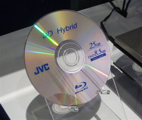 dvd format hybrid first commercial blu ray disc dvd hybrid announced in japan