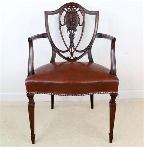 set   antique english victorian hepplewhite design
