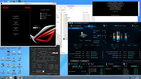 real bench asus rog realbench scores cpus motherboards and memory
