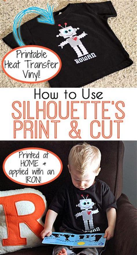 how to use printable heat transfer vinyl with silhouette cameo heat transfer vinyl picmia