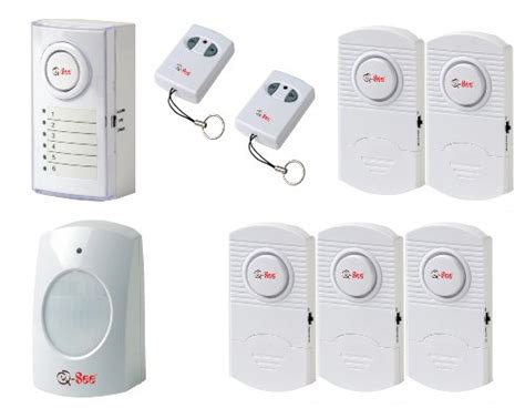 q see qsdl506w wireless home security alarm system kit