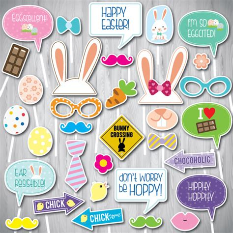 printable easter photo booth props easter photo booth props printable photo booth props 33