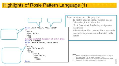 json pattern matching regex considered harmful use rosie pattern language instead