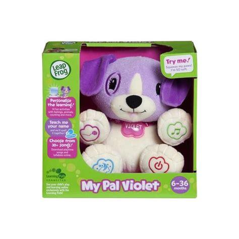 violet puppy leapfrog my puppy pal violet kmart