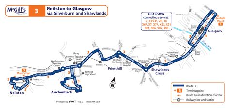 houston glasgow map glasgow timetable finder list