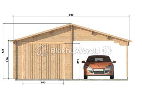 schuur 6 x 3 houten garage en carport flevoland 6x5 6m 44mm