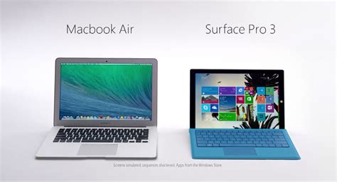 microsoft side  side comparison ads    apple