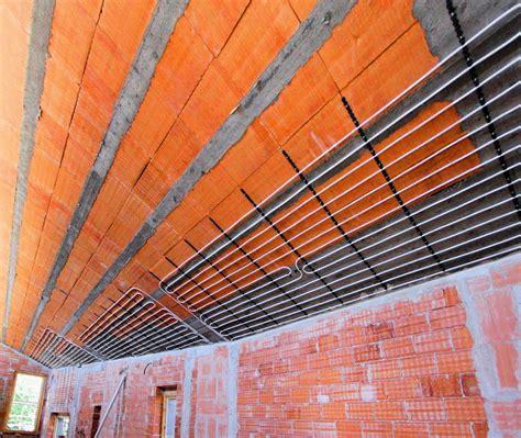 impianti di riscaldamento a soffitto come scegliere il riscaldamento la casa ecologica