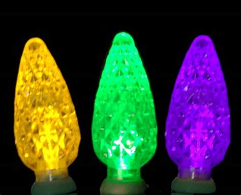 commercial c6 led 70 light purple yellow and green