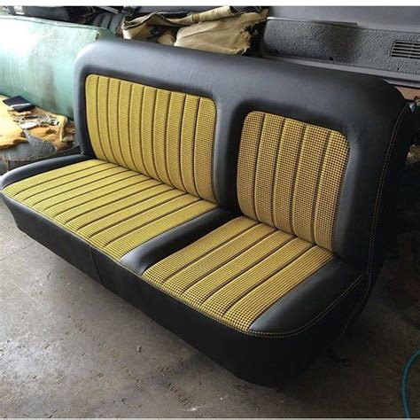 classic truck bench seat 55 best images about classic car interior on pinterest