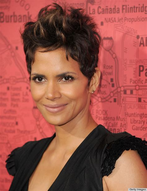 haley berry short hairstyles 2014 an ode to halle berry s pixie huffpost
