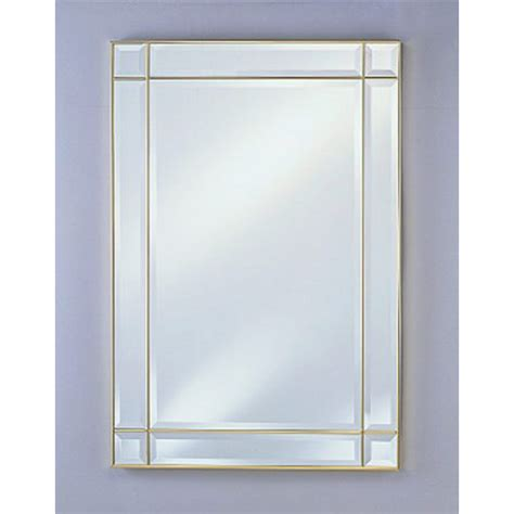 bathroom mirrors rectangular wall mirror by afina