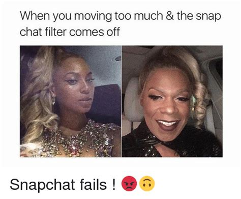 moving    snap chat filter