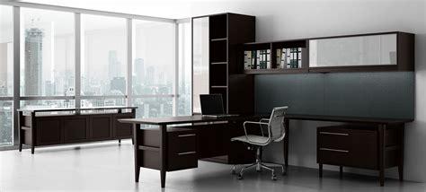 retro modern contemporary wood desk ambience dor 233